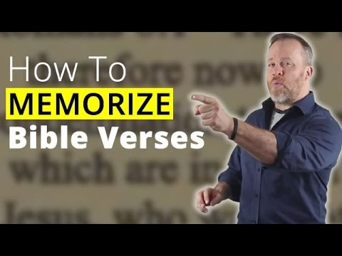 Bible Study: How to Memorize Bible Verses