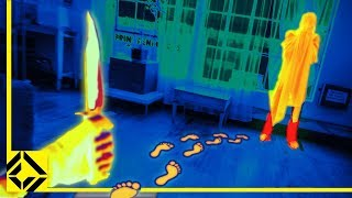 Airsoft Hide & Seek with Thermal Camera