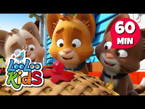 Three Little Kittens 🐱 Learn English with Songs for Children | LooLoo Kids