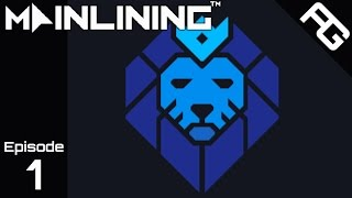 Censorship Data Propaganda - Let's Play Mainlining - Ep. 1 - Mainlining Gameplay - Mainlining Game