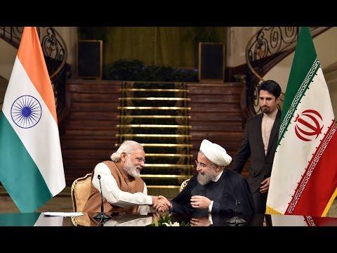 PM Modi's address at the Joint Press Statement between India & Iran in Tehran