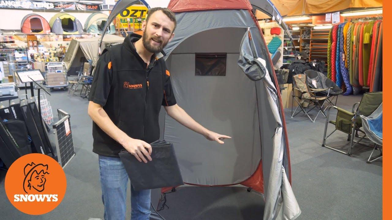 Pop-up Change Tent