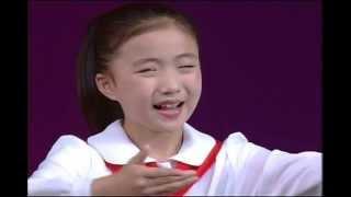 North Korean Girls Singing  北朝鮮万景台少年宮殿公演 少女の合唱