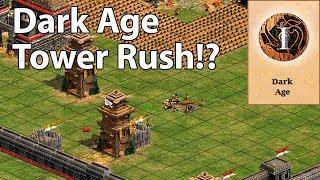 1v1 Full Random vs Miguel   Dark Age Tower Rush!?