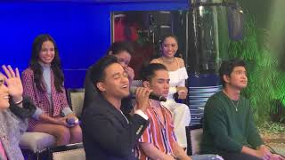 IDOL PHILIPPINES TOP 12 nagsample sa presscon | June 23, 2019