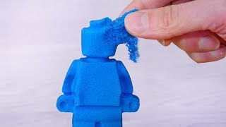 I Tried Making Kinetic Sand! - Video Youtube
