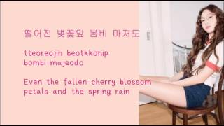 Jessica - Because its spring