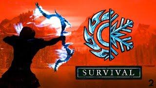 Skyrim Special Edition Выживание Легенда! Лучник + Creation Club #2