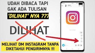Cara Melihat DM Instagram Tanpa Diketahui Pengirimnya...