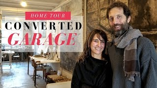 Converted Car Garage To Artists Home, Studio & Gallery | Modern Townhouse In Florence