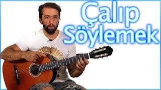 GİTAR Dersleri 2 - Gitar çalıp şarkı Söylemek - Caddelerde Rüzgar Nasıl çalınır Orjinal Akor