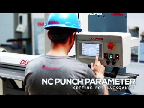 Děrovací stroj s NC dorazem