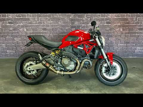 2017 Ducati Monster 821 in Auburn, Washington - Video 1