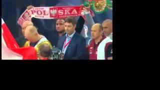 HYMNY POLSKA - ROSJA, Moscow, Włodarczyk vs Drozd, Григорий Дрозд - Кшиштоф Влодарчик 2014-09-27