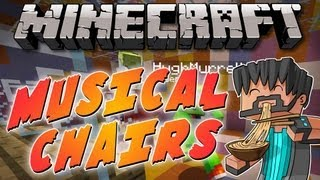 Minecraft Mini Game : Musical Chairs W Friends
