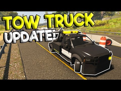 TOW TRUCK UPDATE & MORE POLICE CALLOUTS! - Flashing Light Gameplay - Police Roleplay Simulator