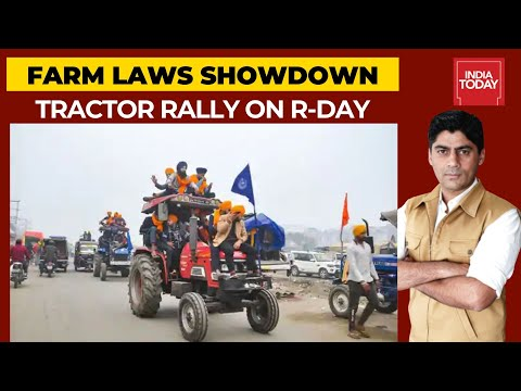 Farmers To Hold Tractor Rally On Republic Day; Delhi Police Raises Security Concerns | India First