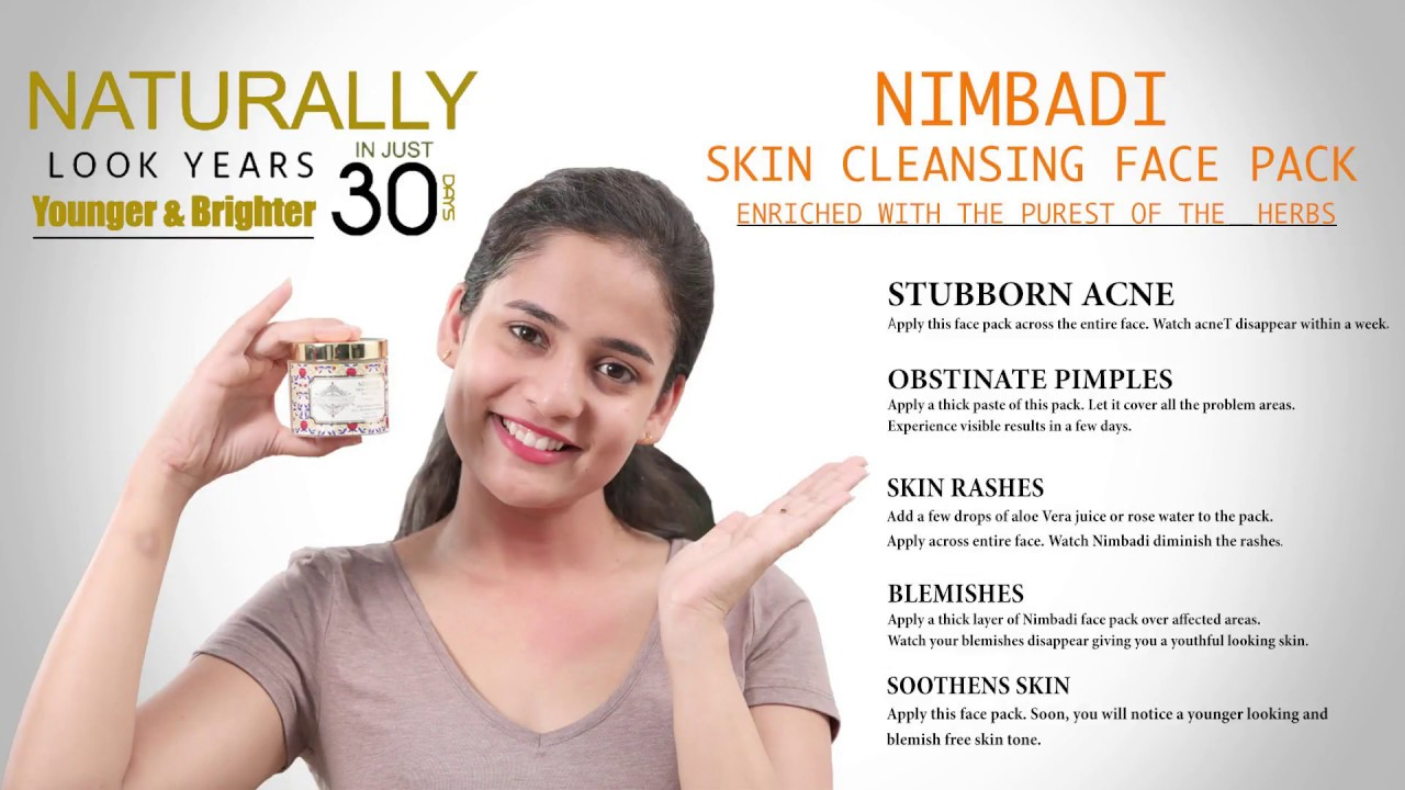 Royal Indulgence Nimbadi Skin Cleansing Face Pack | A One Stop Solution for Acne, Pimples