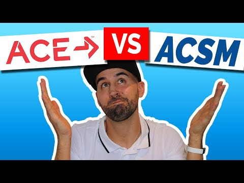 ACE or ACSM? - Which personal trainer certification to choose ...