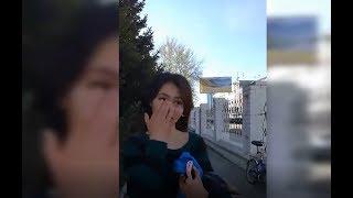 В Оскемене полицейские издеваются над подростком. Задержания после митинга 10 мая 2018 года/ БАСЕ