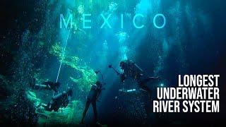 Scuba diving the longest underwater river system |  Yucatan Peninsula, Playa Del Carmen, Mexico