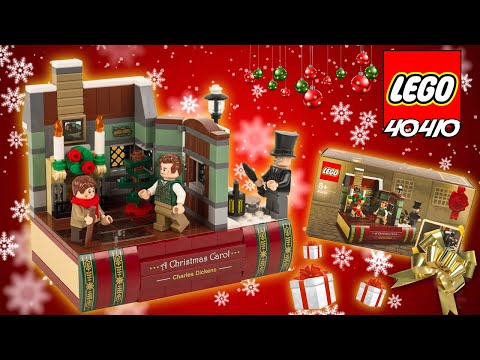 Vidéo LEGO Objets divers 40410 : Hommage à Charles Dickens