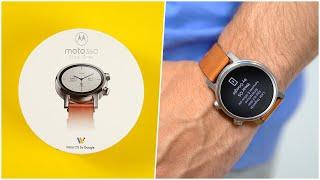 Die schönste Smartwatch? - NEW Motorola Moto 360 (2020) Unboxing (Deutsch) | SwagTab