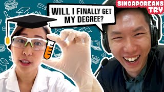 Singaporeans Try: Singaporeans Who Studied Overseas Try Local Uni Life For A Week