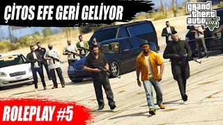 GTA 5 ROLEPLAY #5 MAHALLE KARIŞIYOR !!