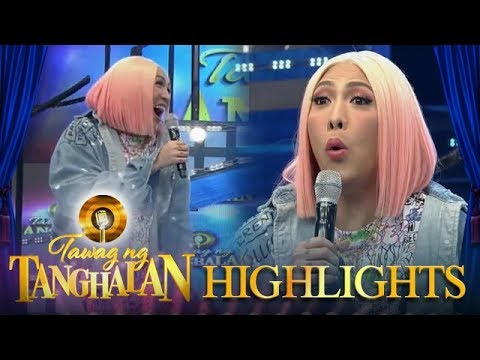 Tawag ng Tanghalan: Vice makes fun of the alphabet