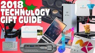 Top Tech & Gadget Gift Guide Christmas wishlist 2018