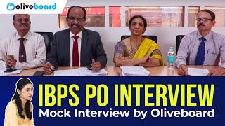 IBPS PO Mock Interview Questions & Answers | Bank Interview Preparation