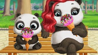 Little Panda Lu Pet Care Game | Kids Learn to Make Ice Cream and Play with Baby Panda