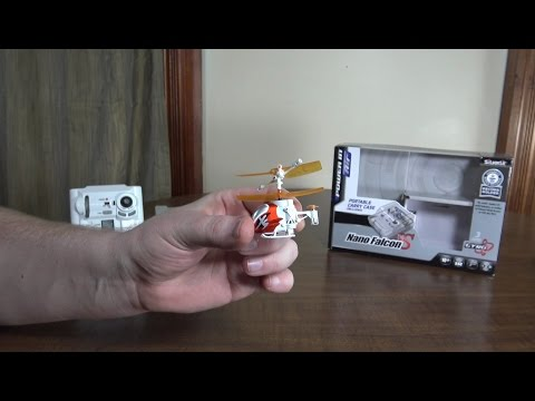 Silverlit – Nano Falcon XS (2015 World's Smallest RC Helicopter) – Review and Flight