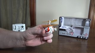 Silverlit - Nano Falcon XS (2015 World's Smallest RC Helicopter) - Review and Flight