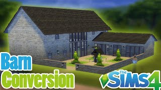 Sims 4 Speed Build:  Barn Conversion!