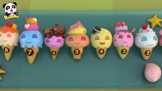 ♬アイスクリームのうた | アイスクリームやさんごっこ | 赤ちゃんが喜ぶ歌 | 子供の歌 | 童謡 | アニメ | 動画 | BabyBus