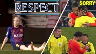 The Most Emotional & Beautiful Moments You Have ever SEEN in Football ●  #RESPECT