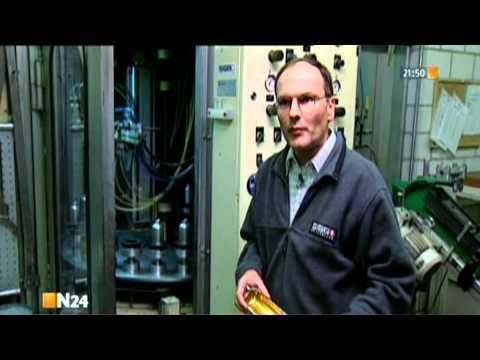 Herstellung von aluminium Trinkflaschen bei SIGG (Schweiz)