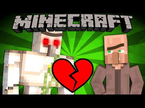 If Iron Golems Hated Villagers - Minecraft | Youtube Search RU