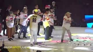 Hip Hop Dance Battle Japan vs Korean in the World Cup