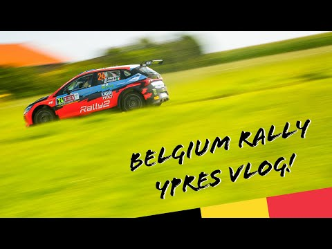Debuts and drama in Belgium! 🤟 Ypres Rally VLOG 🎬