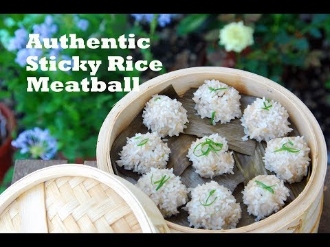 How to Make Hubei Sticky Rice Pearl Meatballs