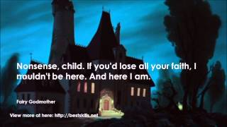 Top 20 quotes from  Cinderella (1950)