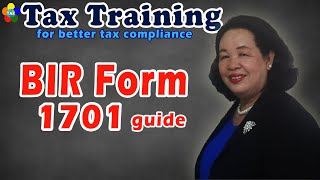 Income Tax Return Form 1701 Guide