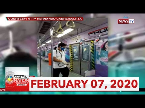 [GMA]  State of the Nation with Jessica Soho Express: February 7, 2020 [HD]