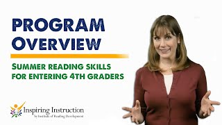 Summer Reading Skills Program for 4th Graders