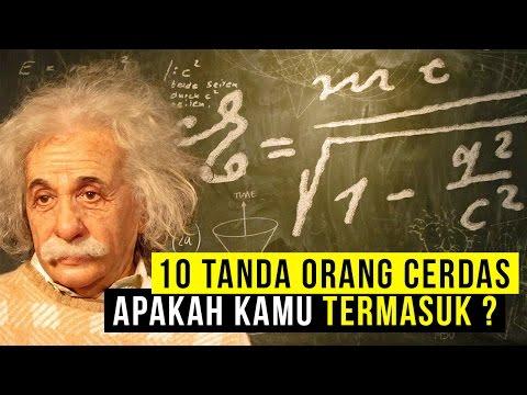 Video 10 Tanda Orang Cerdas...Apakah kamu termasuk ?