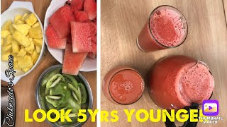 USE THESE THREE FRUITS TO LOOK 5 YEARS YOUNGER THAN YOUR AGE    (super recipe )