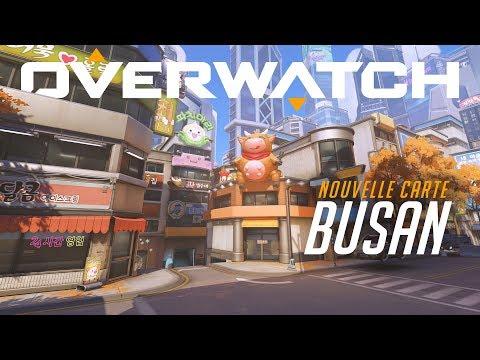 Carte Busan de Overwatch